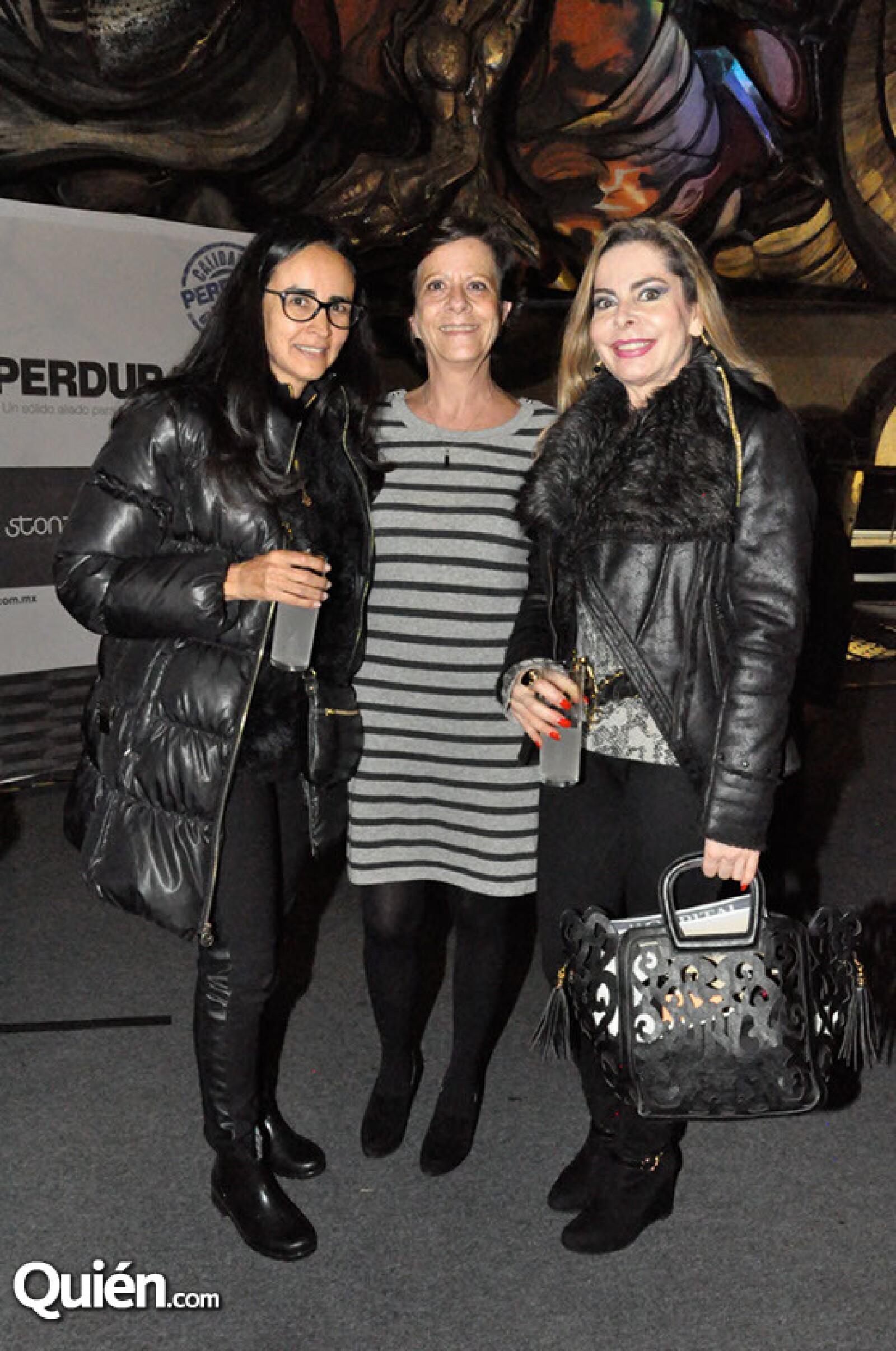 Mónica Pantoja,Lurdes Fernández y Cristina Ruiz