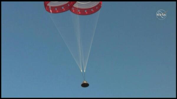 Boeing realiza con éxito pruebas de cápsula espacial para la NASA