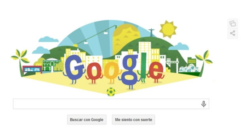doodle Brasil 2014 Google