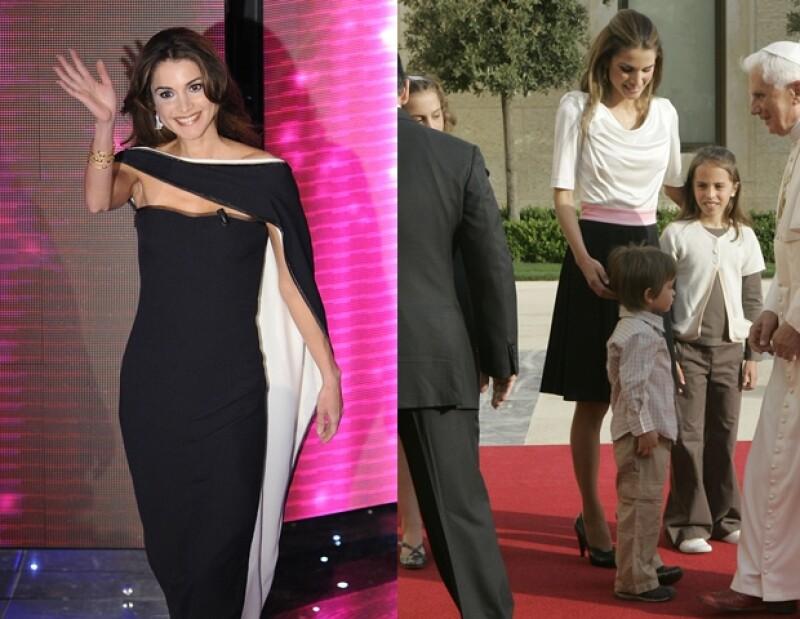 De esta lista, Rania es la única Reina y es considerada la más bella del mundo.
