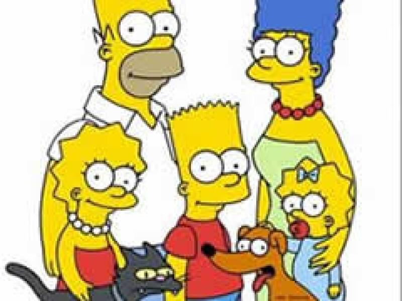 Los Simpsons también se ven afectados por la crisis hipotecaria en EU. (Foto: AP)