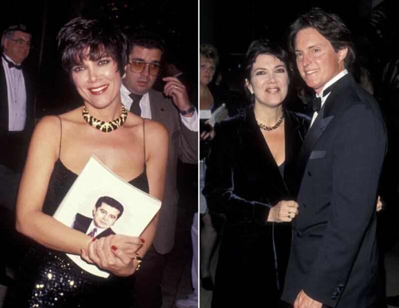 Kris Jenner y sus looks a principios de los noventa.