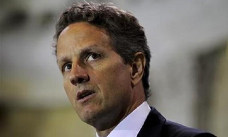 """Tim Geithner criticó al Congreso de EU por infligir """"daños duraderos"""" en el sistema financiero durante el debate sobre la deuda. (Foto: Reuters)"""