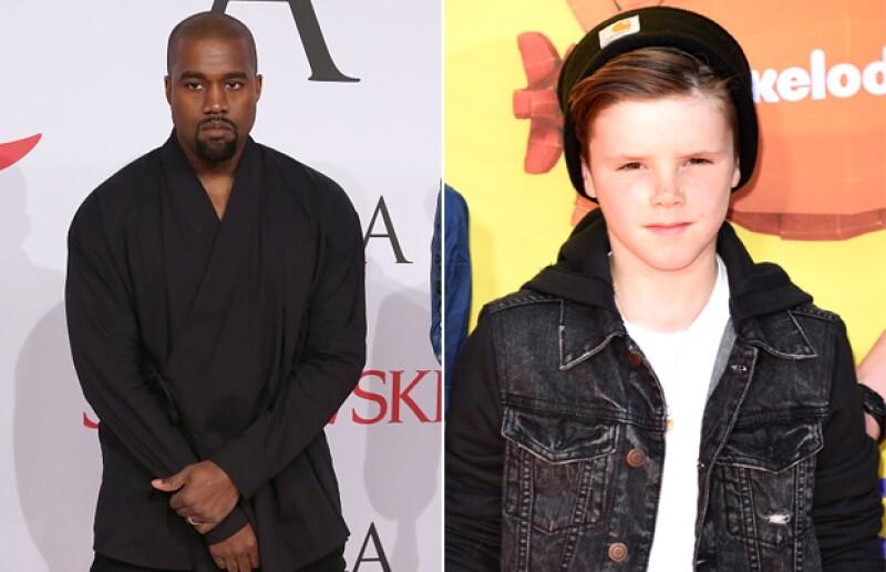El rapero ha ofrecido su ayuda a los Beckham para convertir a su hijo Cruz en un cantante exitoso.