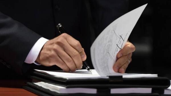 Pe�a Nieto firma decreto de reforma energ�tica