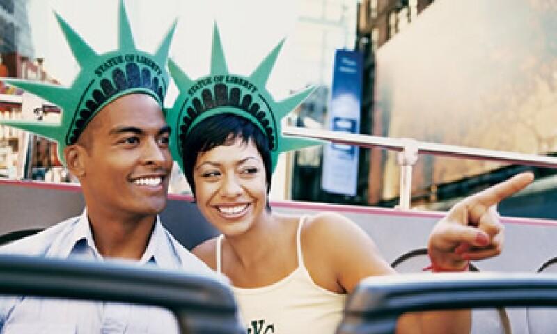 El turismo a EU arribó principalmente de Canadá, México y GB. (Foto: Thinkstock)