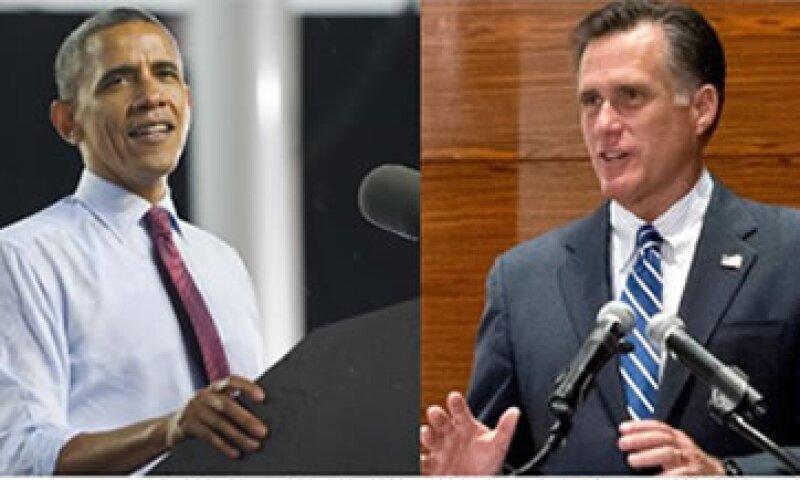 Obama busca que los más ricos del país paguen sus impuestos, mientras Romney se rehúsa a recortar gastos de defensa.  (Foto: Cortesía CNNMoney)