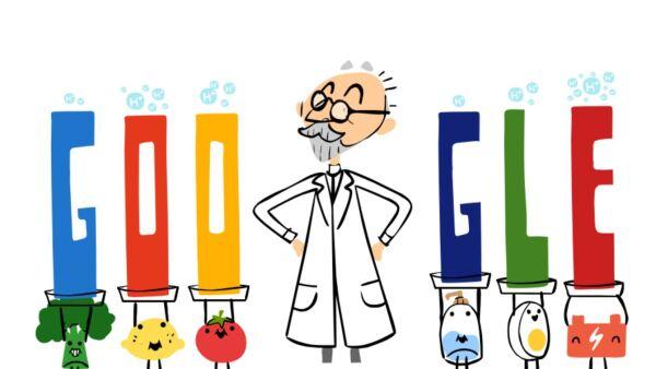 Doodle dedicado al pH