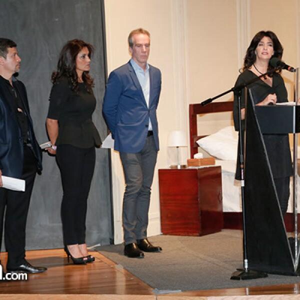Federico Ochoa,Yolanda Pulido,Sergio Rojkind y Odette Jacobo