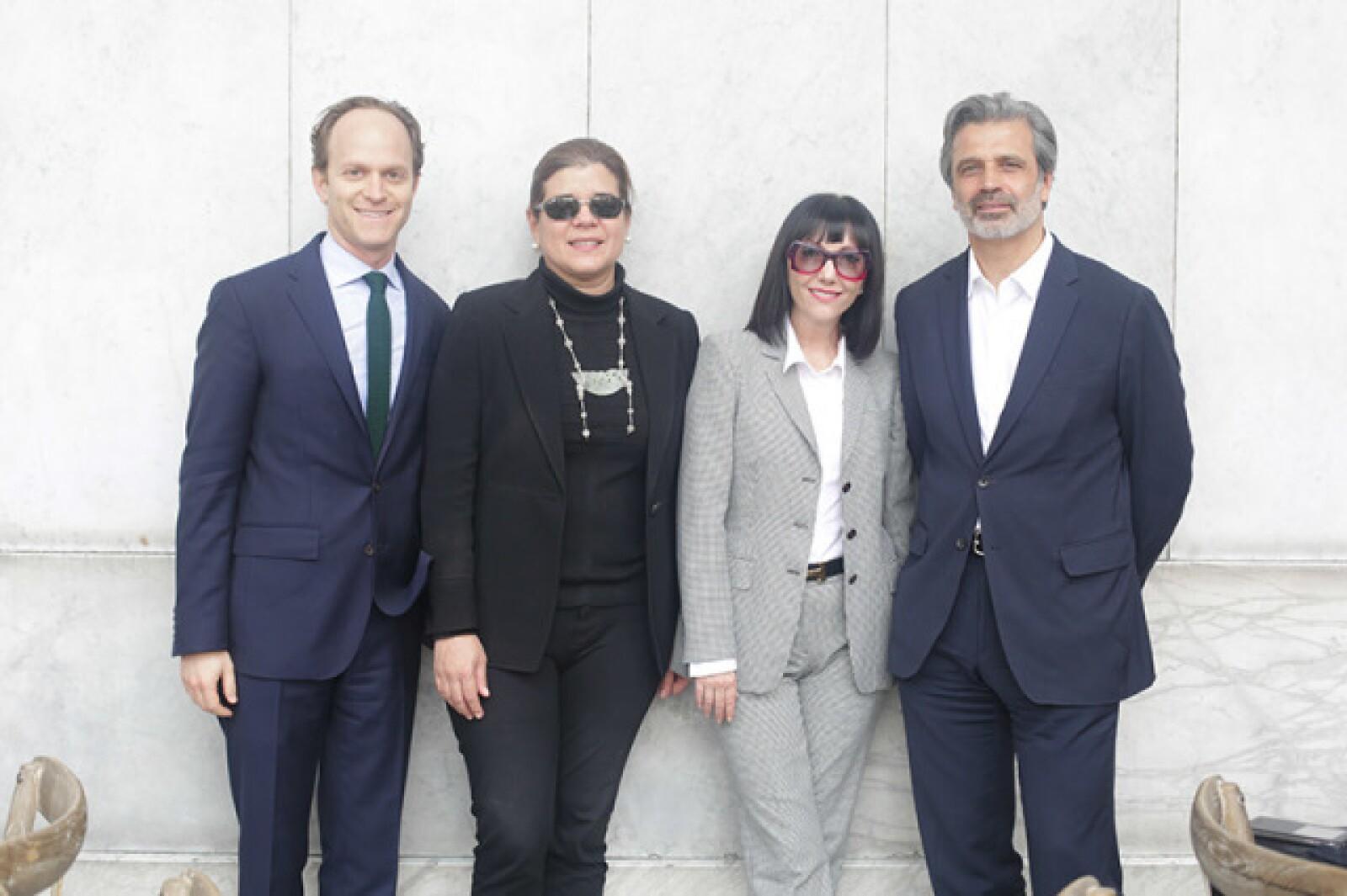 Ari Wiseman, Sonya Santos, Ana Cristina Cabezut y Miguel Fernández Félix