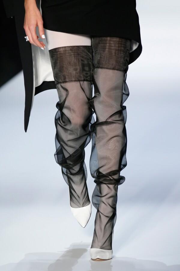 Jean-Paul Gaultier show, Detail, Spring Summer 2018, Haute Couture Fashion Week, Paris, France - 24 Jan 2018
