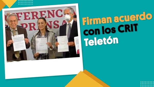 Sin invitar a Susana Distancia, firman acuerdo con los CRIT Teletón  #EnSegundos