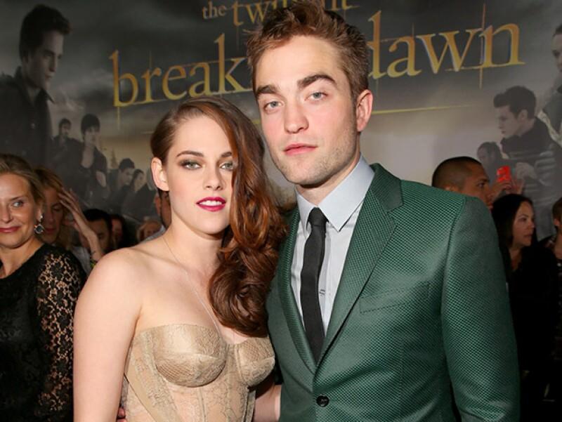 Kristen y Robert pusieron fin a su mediática relación luego de que la actriz le fuera infiel con el director Rupert Sanders.
