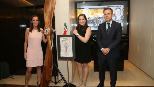 Berger Joyeros, Homenaje a pioneros de la fuerza áerea mexicana