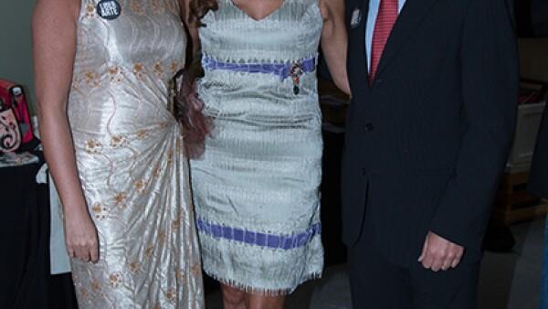 Paulina Alcocer,Michelle Pariente,Philippe de la Croix