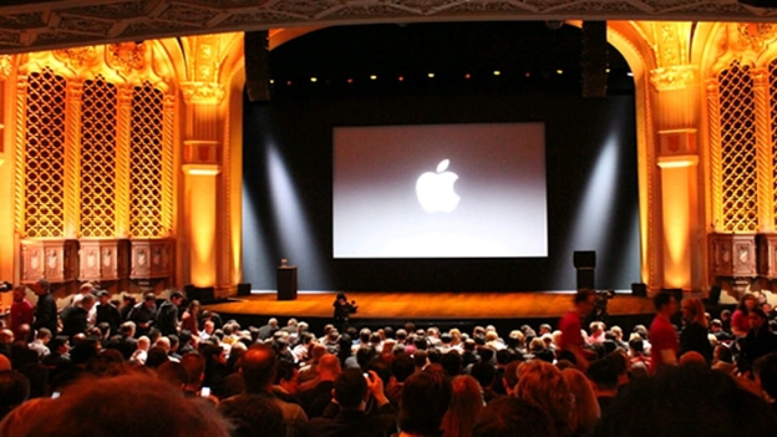 teatro San Jose California evento Apple 23 de octubre