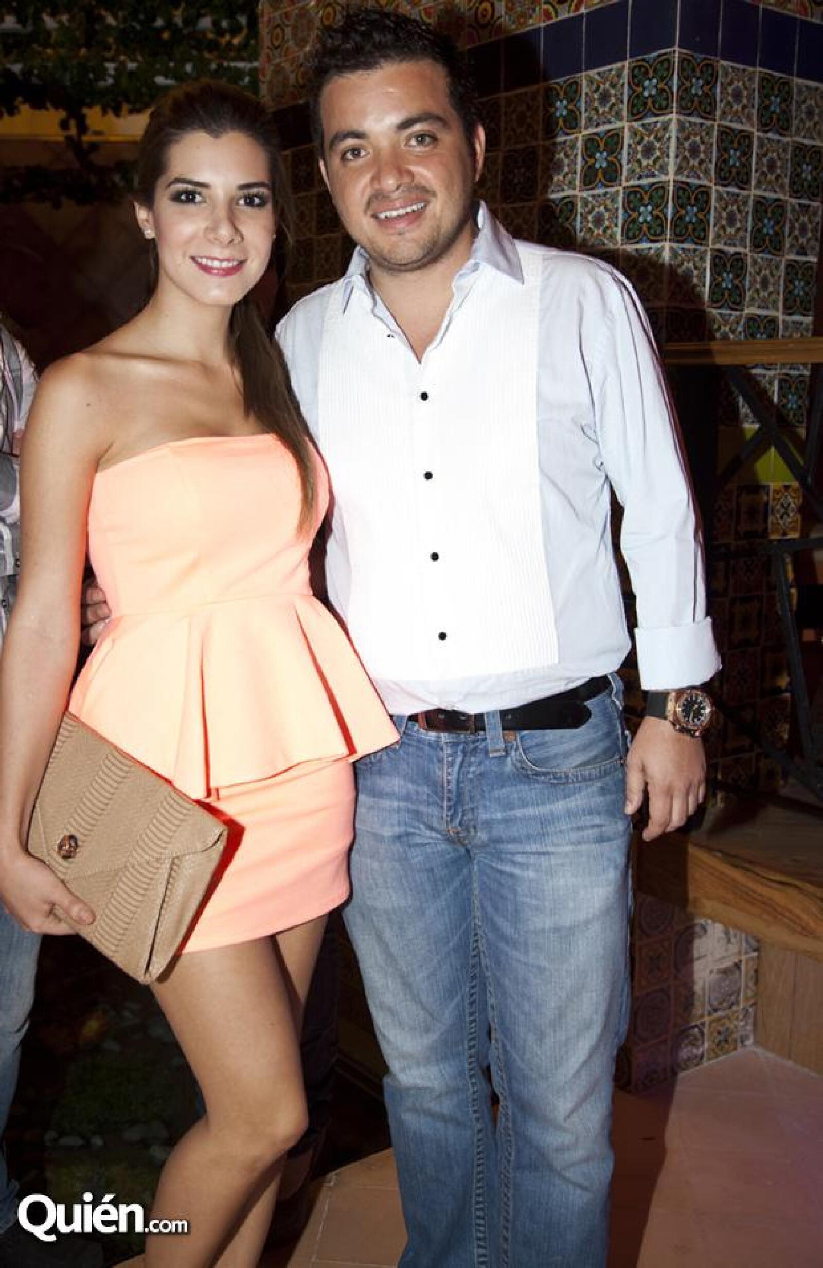 Andrea Portugal y Fabián Gómez