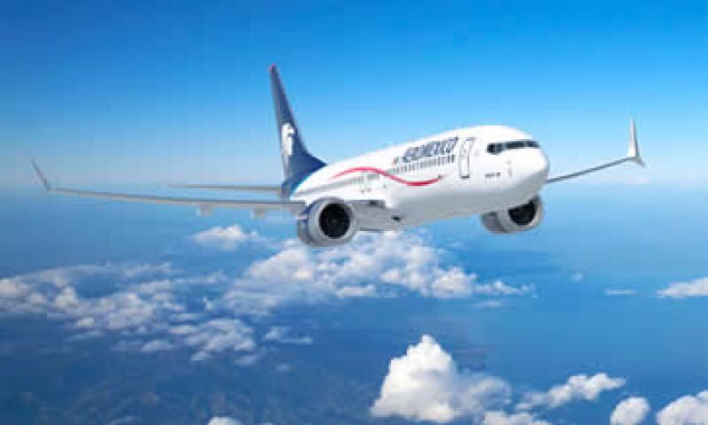 Grupo Aeroméxico firmó en julio una carta de intención con el fabricante de aviones Boeing para adquirir hasta 100 aviones. (Foto: Cortesía Boeing)