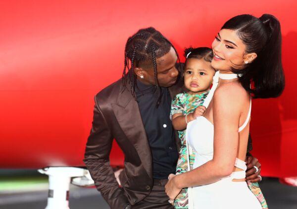 Kylie Jenner, Travis Scott y Stormi