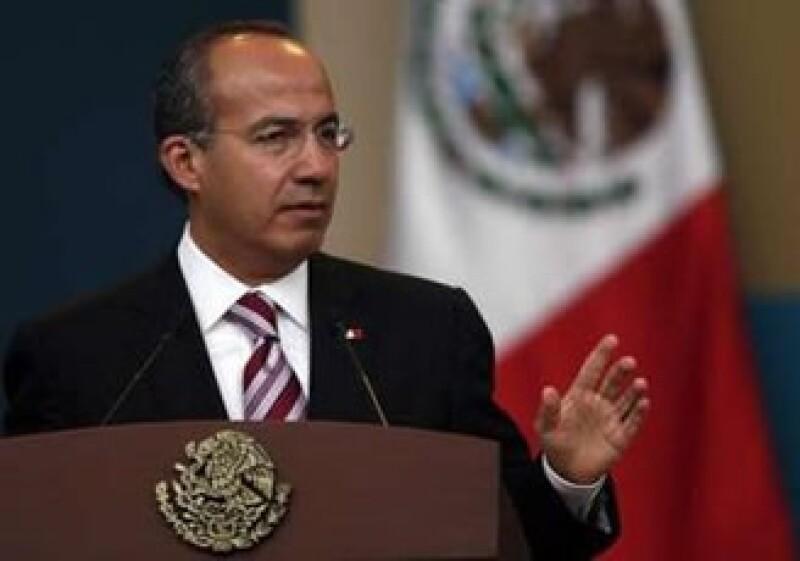 Los tres años de Gobierno de Calderón han estado marcados por la crisis económica mundial. (Foto: Reuters)