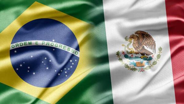 Brasil y México