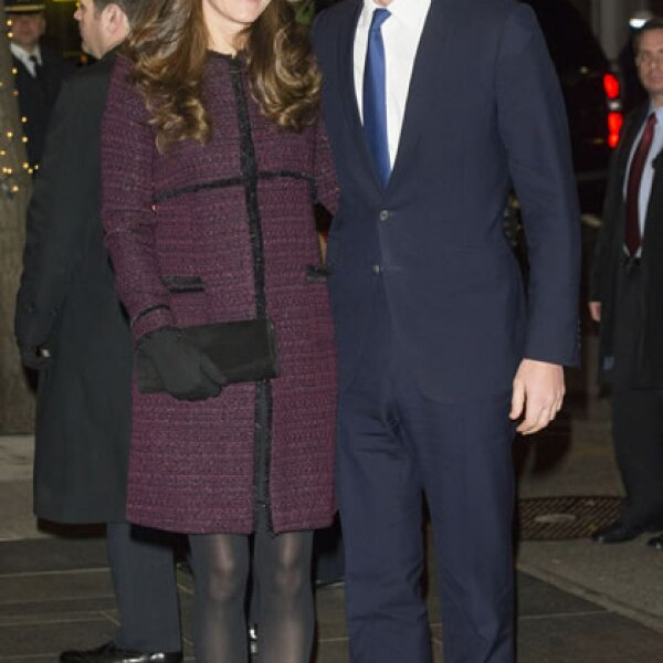 Kate Middleton a su llegada en Estados Unidos el 7 de diciembre.