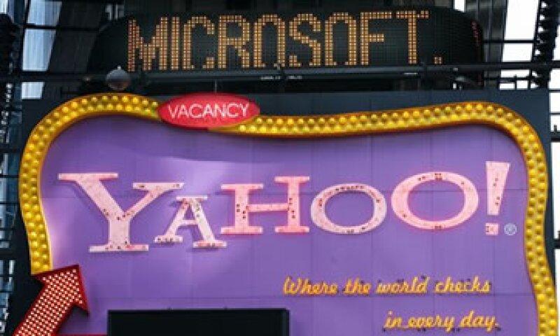 Yahoo tiene un valor de mercado de alrededor de 18,000 mdd. (Foto: AP)