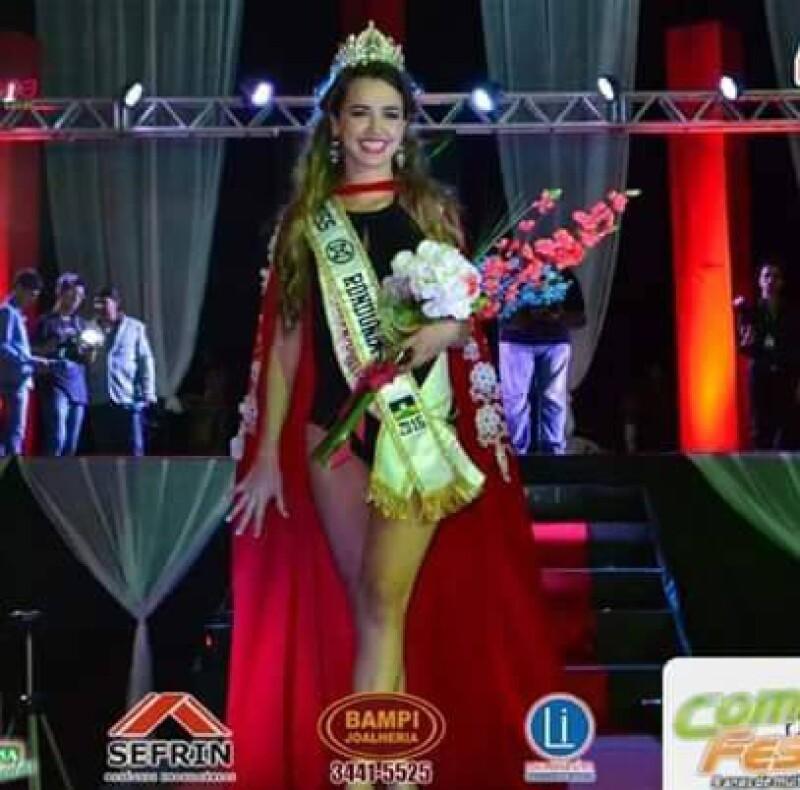 La ganadora del certamen fue Karliany Barbosa.