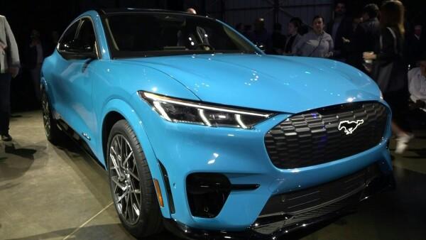 Así luce el nuevo Mustang eléctrico de Ford