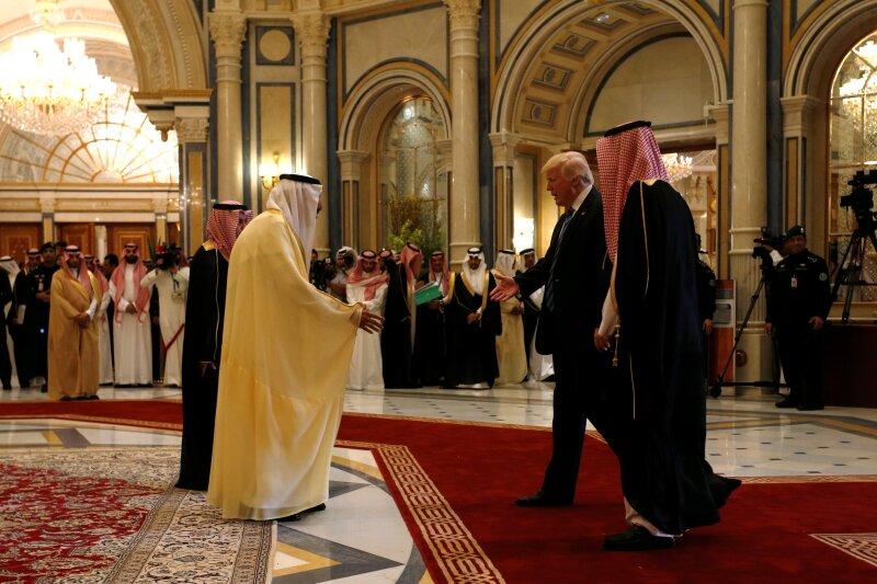Trump en Riad