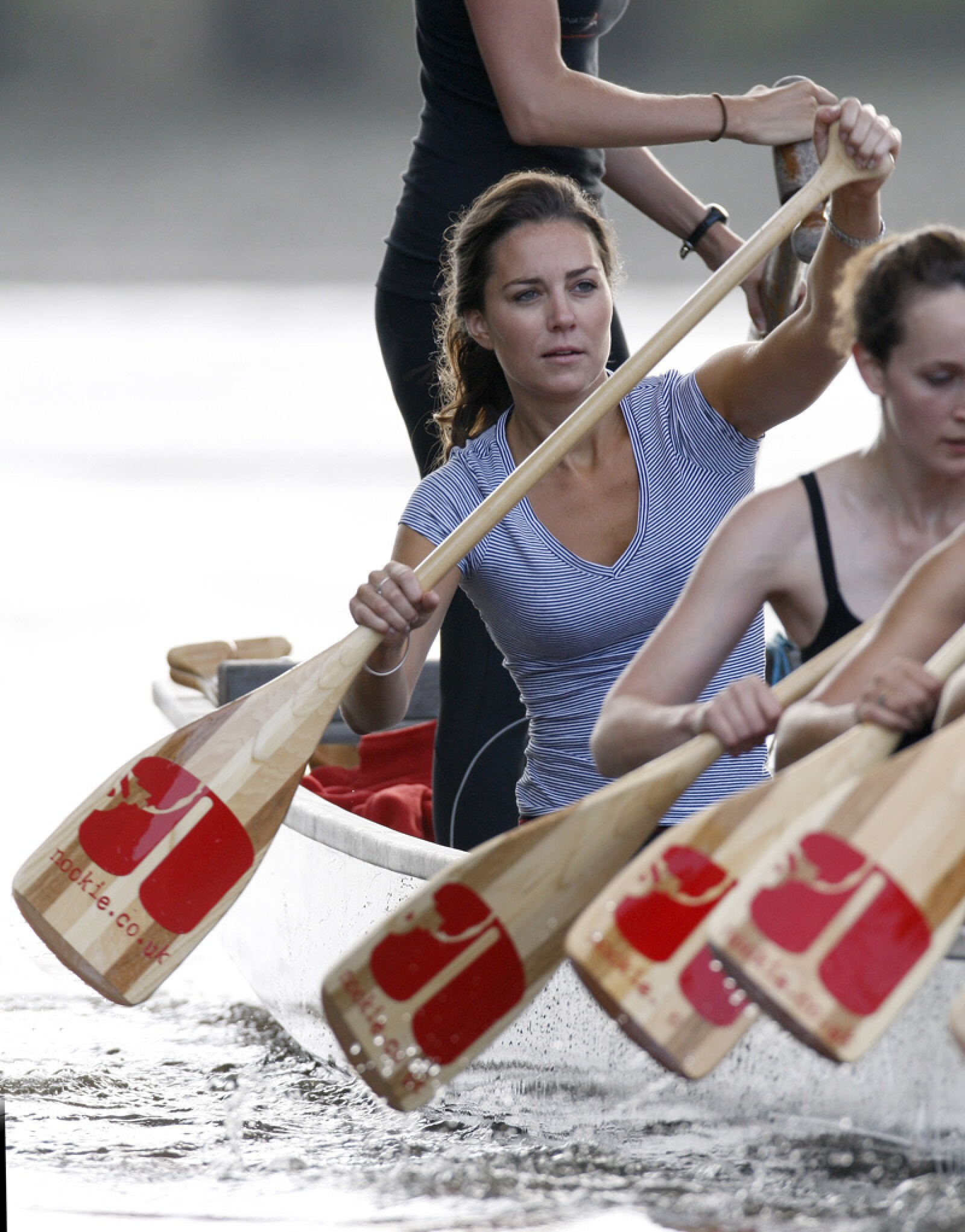 Kate Middleton training for 'The Sisterhood Challenge' on the River Thames, London, Britain - 27 Jul 2007