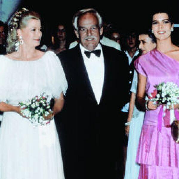 Princesa Grace Kelly, Príncipe Rainiero, Princesa Carolina