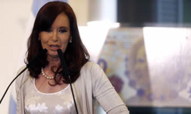 Cristina Fernández hizo un llamado a los ciudadanos para cuidar los precios ante la creciente inflación. (Foto: Reuters)