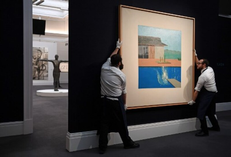 BRITAIN-ART-AUCTION