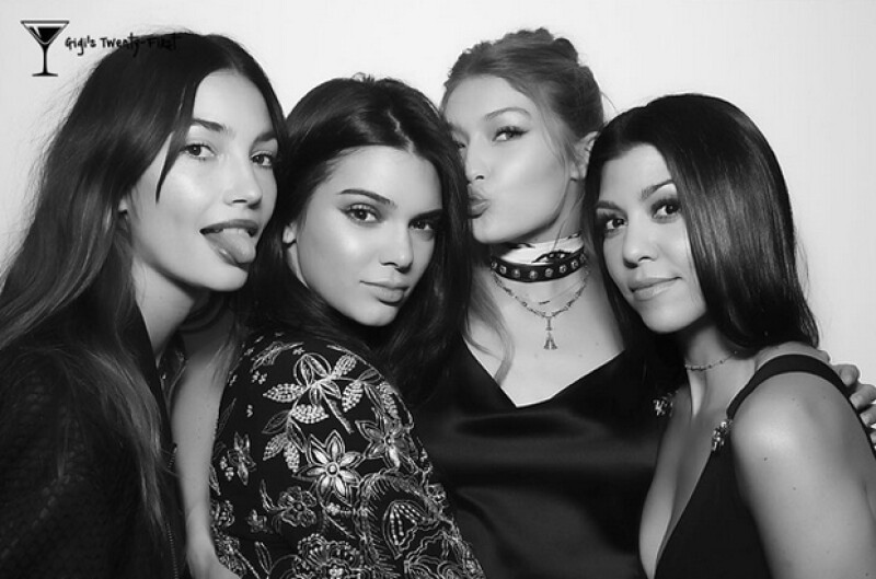 Lily, Kendall, Gigi y Kourtney.