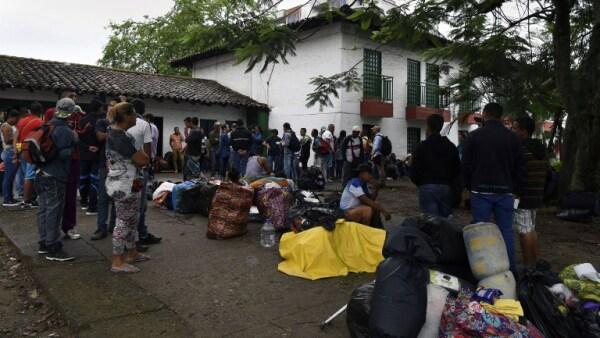 Ecuador migrantes Venezuela Colombia Perú