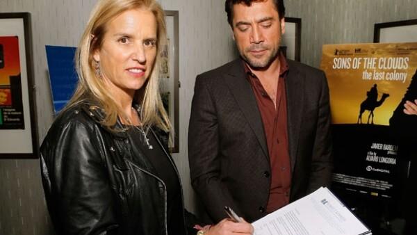 El actor colabora en una campaña de concientización con la sobrina del emblemático John F. Kennedy, Kerry Kennedy en pro de los derechos de la comunidad Saharaui desalojada de territorio marroquí.
