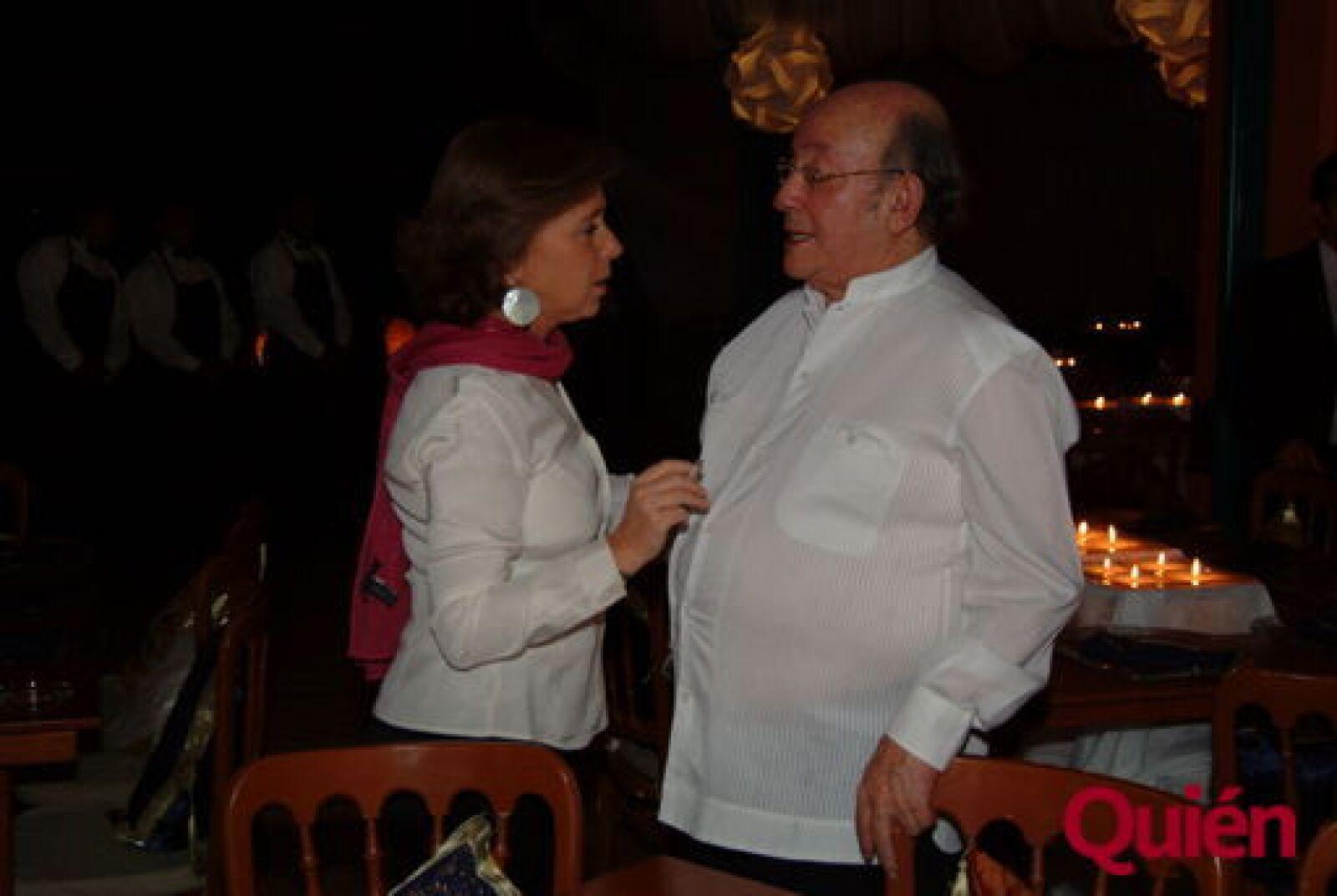 María Amparo Casar, Germán Dehesa