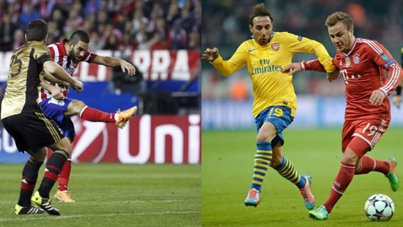 Bayern Múnich y Atlético de Madrid avanzan a cuartos en ...