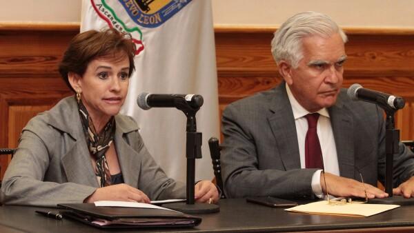 Nora Elia Cruz informó que en las últimas dos semanas, señaló Cantú, se han presentado 18 denuncias más a la Subprocuraduría que encabeza Ernesto Canales.
