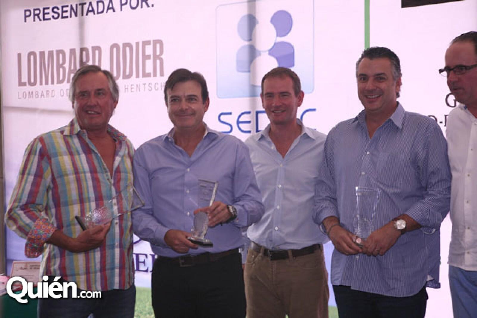 Edmundo Igartua,Oscar Barragán,Pedro Boullosa,Miguel Ferré