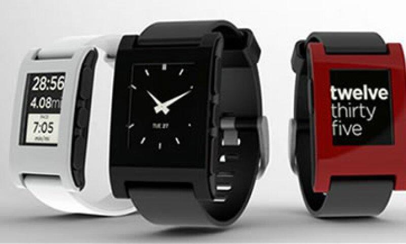 El primer reloj Pebble se vende por 99 dólares, mientras que su versión de acero inoxidable se puede adquirir por 199 dólares. (Foto: Archivo)