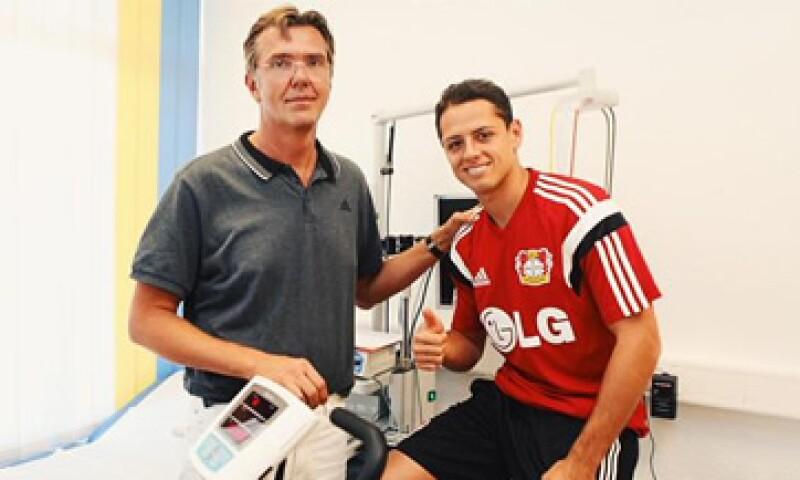 El Bayer Leverkusen confirmó la incorporación que Hernández, que se sometió a pruebas médicas. (Foto: Twitter/@bayer04fussball )