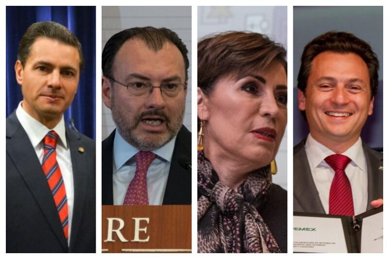 Peña Nieto and team