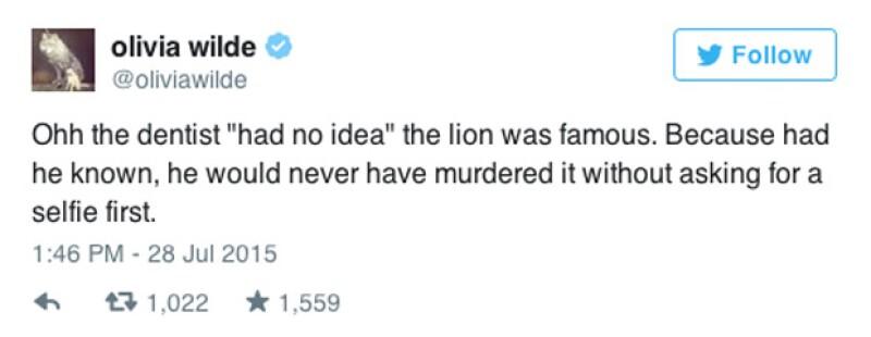 """""""Ahh el dentista """"no tenía idea"""" que el león era famoso. Porque si supiera, nunca lo hubiera matado sin antes pedirle una selfie"""""""