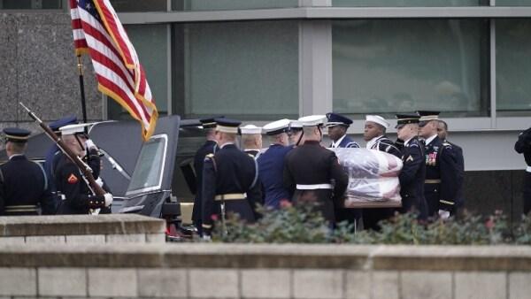Así fue el último adiós al presidente número 41 de EU, George H. W. Bush