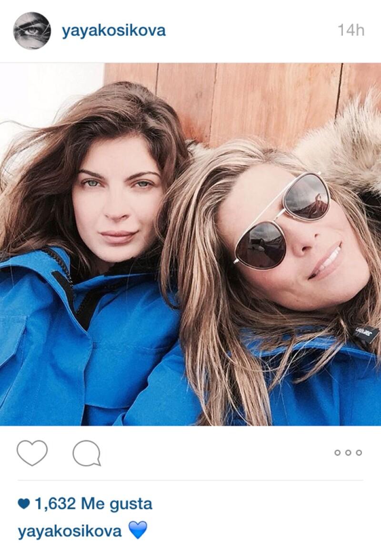 Montserrat Oliver y Yaya Kosikova disfrutan viajar juntas por el mundo.