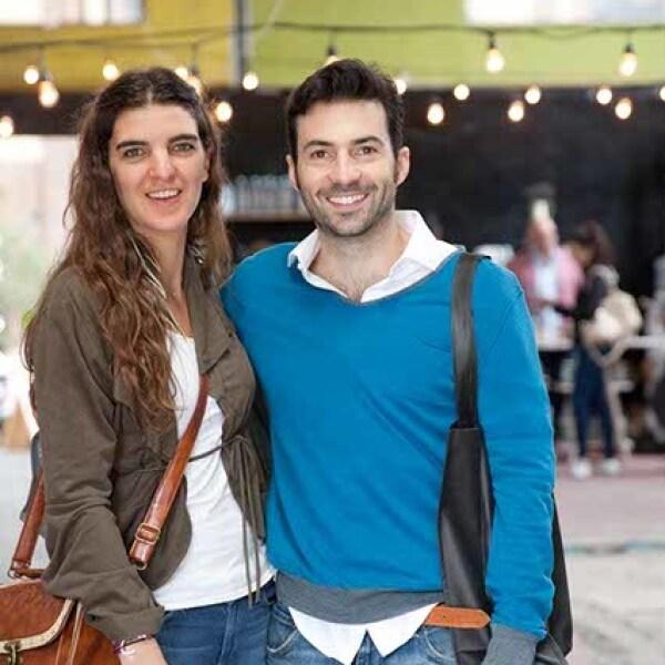 Carla Rivero y Pablo Cruz-Guerrero