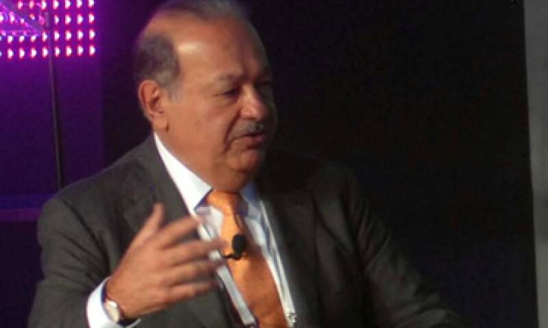 En más compras de Carlos Slim, el pasado fin de semana acordó la compra del 21% de Telekom Austria. (Foto: Notimex)