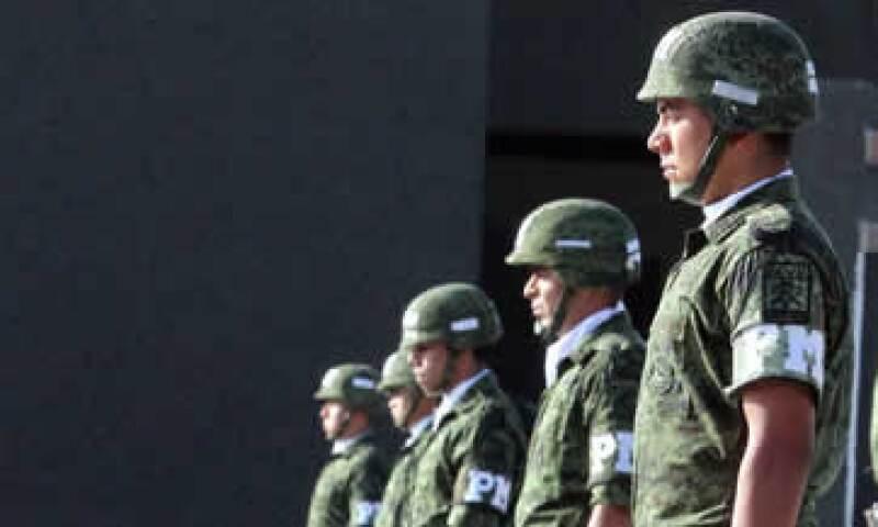 Además del Ejército, la Policía Federal y corporaciones estatales y municipales resguardarán la seguridad del evento. (Foto: Notimex)